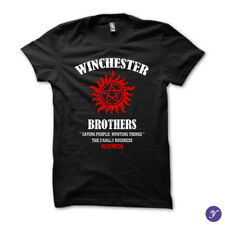 Winchester Brothers tshirt - Supernatural Winchesters Bros Sam Dean Winchester