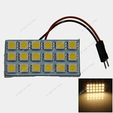 18 SMD 5050 LED Festoon Dome/Door/Box Light Panel Interior Bulb T10 BA9s Festoon