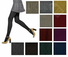 NIP!  WOMEN'S HUE RIBBED/TEXTURED CONTROL TOP TIGHTS - VARIETY - COLORS/SIZES!