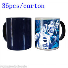 36pcs/carton---11OZ Blank Sublimation Full Color Changing Mugs, Magic Cup Mug