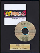 BLINK 182 - Framed CD Presentation Disc Display - MULTI LISTING