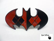 DC COMICS BATMAN: HARLEY QUINN BAT DIAMONDS SYMBOL BUCKLE WITH BELT