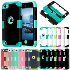 3 IN 1 Hybrid Heavy Duty Shockproof Hard Case Cover For Apple iPod Touch 5 / 6