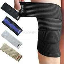 1 Pcs Blue Knee Bands Ankle Brace Compression Strain Sprain Joint Support Band