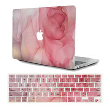 """2in1 Silk Leather Coat Gold Hard Case+Keyboard Cover for MacBook Air Pro 11""""/13"""""""