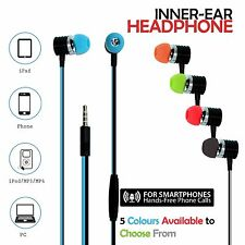 Genuine IMobile In ear Tangle Free Flat Stereo Headphones Earphone With MIC/VOL