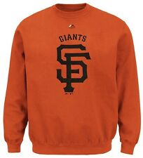 San Francisco Giants Majestic Mens Critical Victory Sweatshirt Big & Tall Sizes