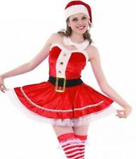 Mrs Claus Santa Dress Red Sexy Christmas Hot Mini Helper Naughty Adult