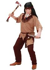 Red Native Indian Costume Fancy Dress World Book Day Week Tribal Chief History