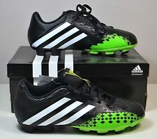 NWT BOYS KIDS ADIDAS PREDITO LZ TRX FG J OUTDOOR SOCCER CLEATS SHOES 5Y