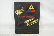 1955 5th Armored Victory Division Basic Training Yearbook,Camp Chaffee -CG16094