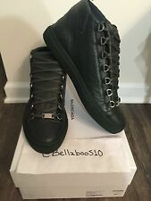 Balenciaga Arena Hightop Sneaker in Dark Green size 42