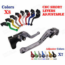 Billet Short Brake Clutch Levers for Triumph Daytona 600/650 Daytona 955i 04-05