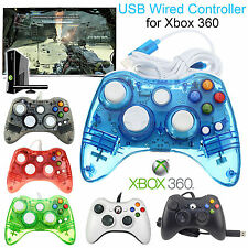 Microsoft Xbox 360 Controller USB Wired For Microsoft Gamepad Joypad Windows PC