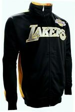 Los Angeles Lakers NBA Majestic Reflective Full Zip Track Jacket Youth Sizes