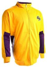 Los Angeles Lakers NBA Insert Full Zip Track Jacket Mens Big And Tall Sizes