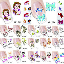 3D Nail Art Water Transfer Decal Wrap Stickers Stamping Manicure Tips Decorative