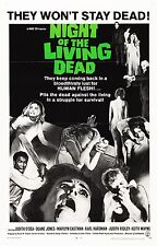 NIGHT OF THE LIVING DEAD Movie Poster Horror Zombies Day Dawn George Romero