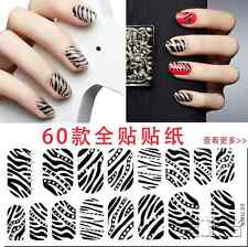 Newly Colorful 3D Crystal Rhinestone Nail Art Sticker Tips Wraps DIY Decoration
