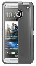New OtterBox Case for HTC One M7 + Belt Clip Holster 'Defender Series'