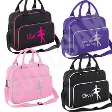 Girls Personalised Ballet Dancer Shoulder Bag Free Printing Dance Accessories