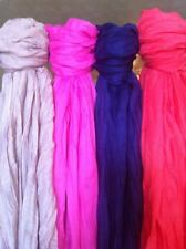 Women's Fashion Long Crinkled Scarf Wrap Scarves Colors