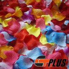 1000PCS SILK ROSE FLOWER PETALS FOR PARTY WEDDING TABLE CONFETTI DECORATION
