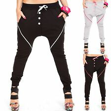 Ladies Pump Aladdin Trousers Baggy Boyfriend Harem