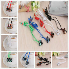 Hot Stereo 3.5mm In Ear Headphone Earphone Earbud For iPhone iPod Samsung PC MP3