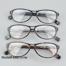 M6610 full rim optical frames double bridge quality acetate spectacles eyewear
