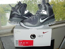 Nike Air Zoom Max LeBron James IX 9 Cool Grey White Metallic Silver x 469764 007