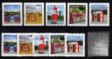 Canada #2612-16(5)+#2612a-16a(5) -  Pride  - used  stamps