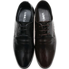 New Mooda Leather Lace up Fashion Formal Oxford Men Derby Dress Shoes Nova