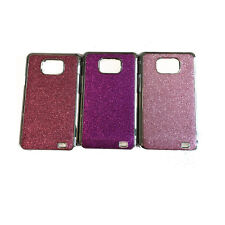 Chrome Glitter Sparkly Bling Hard Case Cover for Samsung Galaxy SII S2 i9100