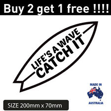 Popular Surf Car Sticker Decal size 200mm x 70mm