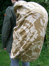 Bergen & Rucksack COVERS Camouflage - 1 LARGE & 1 SMALL- British Army Surplus