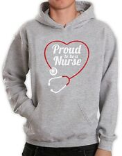 Proud To Be a Nurse - Best Gift Idea for Nurses Hoodie Novelty Present