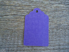 Kraft Violet Gift Swing Tags Small Wedding Favour Party Bomboniere Craft Shop