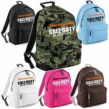 Call of Duty Black Ops III (COD Ops 3) Backpack Bag - Optionally Personalised