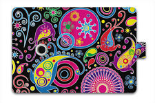 Paisley Magnetic PU Leather Folio Stand Case Cover For Apple iPad Mini 1 2 3
