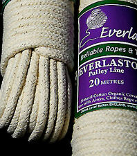 EVERLASTO COTTON PULLEY LINE - Various Lengths
