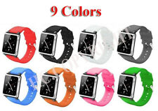 Soft Silicone Wrist Watchband Case Covers Skin For iPod Nano 6 6g 6th Generation