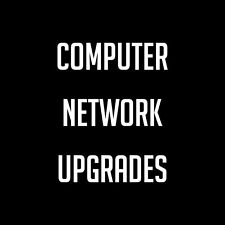 Computer WiFi, Modem Router & Switch Network Upgrades