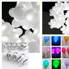1/10/50/100/200PCS White LED Party Light For Paper Lanterns Balloons Decoration