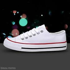 3 Colors Women's Low Top Casual Athletic Sports Canvas Running Shoes Sneakers