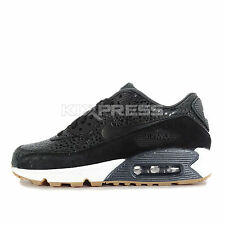Nike WMNS Air Max 90 PRM [443817-006] NSW Running Safari Black/White-Gum