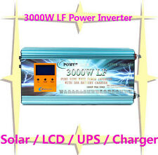 3000W,5000W,6000W,8000W LF Power Inverter 4 IN 1 Solar/LCD/UPS/Charger DC/AC
