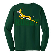 Long-Sleeve South Africa Rugby T-Shirt