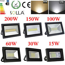 15W 20W 30W 50W 60W 100W 150W 200W LED Flood light Outdoor Security Spot Lamp