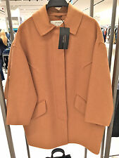 ZARA WOOL HAND MADE COAT CAMEL Size: M  Ref. 4070/221